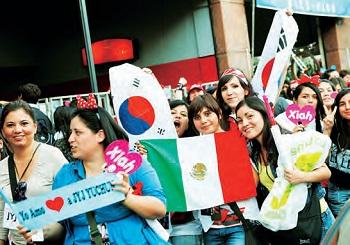K-Pop fans in Spain