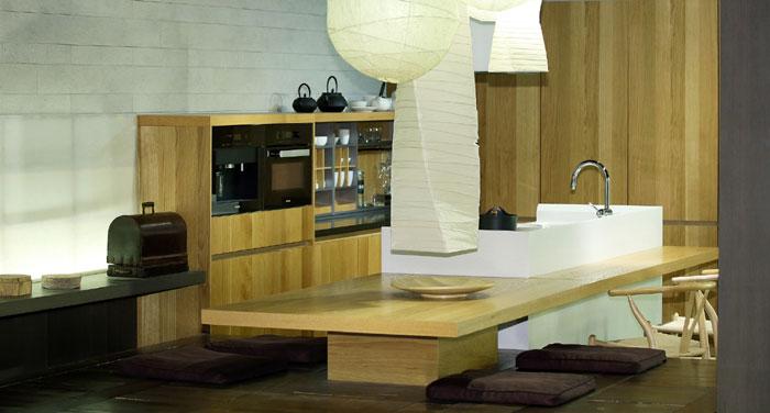 Japanische kucheneinrichtung for Ideen fur kuchengestaltung