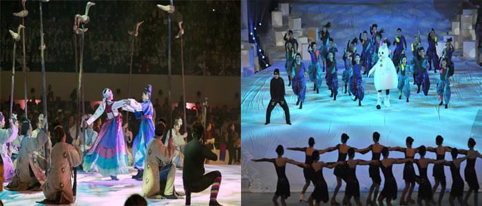 Die Special Olympics 2013 schreiben in Pyeongchang ...